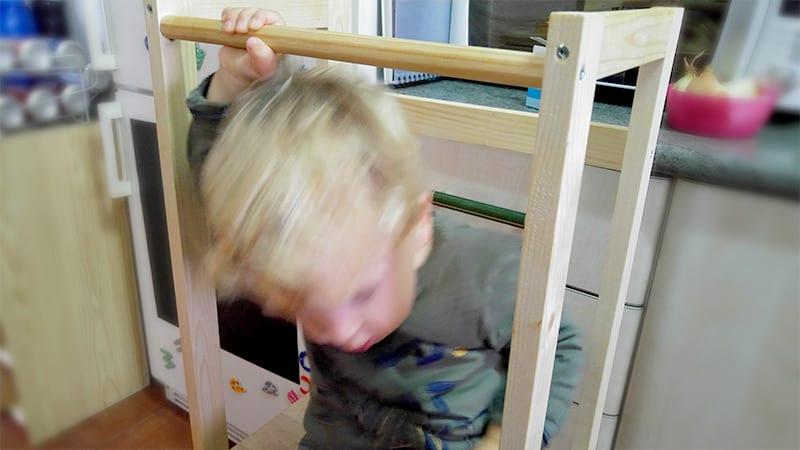torre de aprendizaje casera ikea
