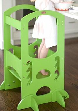 torre de aprendizaje little partners verde