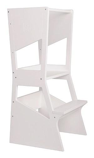 torre de aprendizaje moka blanca